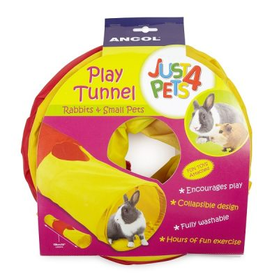 Ancol Just4Pets Rabbit Play Tunnel